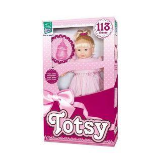 Boneca Totsy 113 Frases C/Cabelo Super Toys