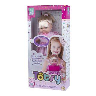 Boneca Totsy 113 Frases Com Cabelo Super Toys