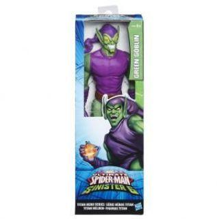 Boneco Spider Man Titan Duende Verde Hasbro