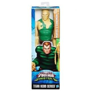 Boneco Spider Man Titan Sandstorm Hasbro