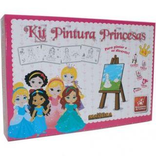 Brinquedo Para Colorir Princesas Brincadeira De Crianca