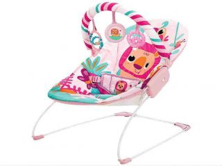 Cadeira Musical E Vibratoria Rosa Selva Mastela