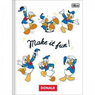 Caderno Brochurao C/D 80 Folhas Pato Donald Tilibra