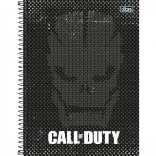 Caderno C/D 01 Materia Call Duty 80 Folhas Tilibra
