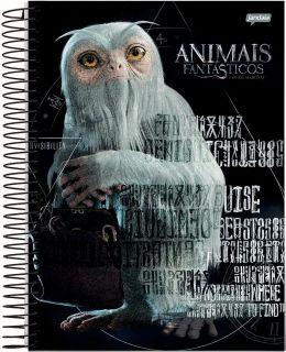Caderno C/D 10 Materias Animais Fantasticos Jandaia