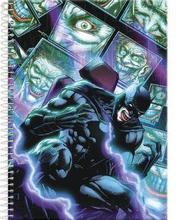 Caderno C/D 10 Materias Batman Foroni