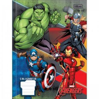 Caderno Caligrafia C/D 40 Folhas Avengers Tilibra