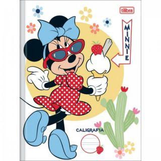 Caderno Caligrafia C/D 40 Folhas Minnie Tilibra