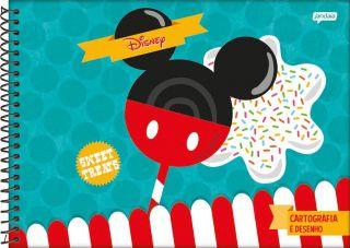 Caderno Cartografia C/D 96 Folhas Disney Sweetie Jandaia