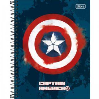 Caderno Colegial 1 Matéria Avengers Heroes Tilibra