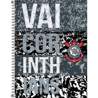 Caderno Universitário 10 Matérias Corinthians Tilibra