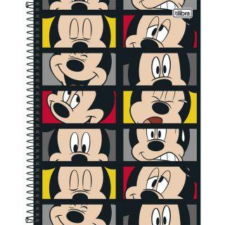 Caderno Universitário 12 Matérias Mickey 240 Folhas Tilibra