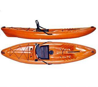 Caiaque Pescador Hidro2 Eko Para Pesca Laranja
