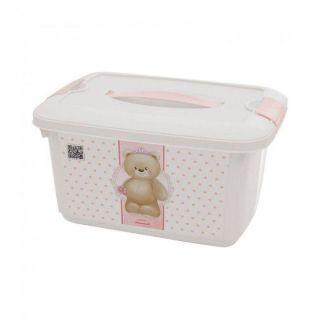 Caixa Organizadora 5,2L Com Alça Ursa Plasutil