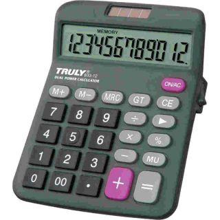 Calculadora De Mesa 12 Digitos 833 Trully