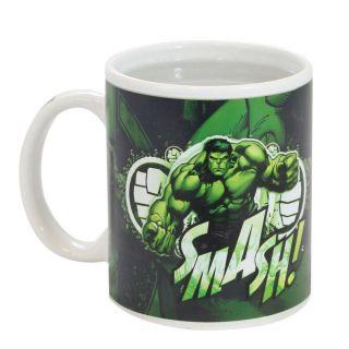 Caneca Magic 300ml Hulk Smash Zona Criativa
