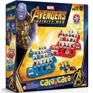 Cara A Cara Avengers Guerra Infinita Estrela