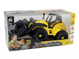 Carregadeira Orange Construction Orange Toys