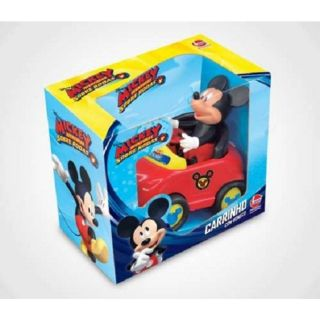 Carro Com Boneco Mickey Ec Lider
