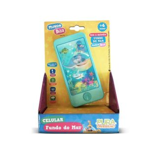 Celular Fundo Do Mar Mundo Bita Yes Toys