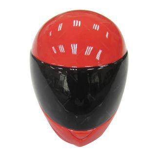 Cofre Ceramica Helmet Branco Vermelho e Preto Urban