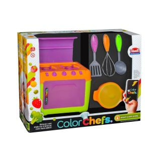 Color Chefs Kit Fogao Usual Brinquedos