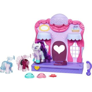 Conjunto My Little Pony Boutique De Moda Rarity Hasbro