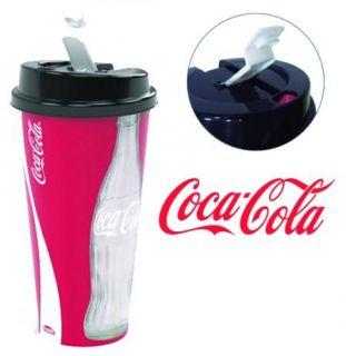 Copo Com Tampa Flip 700ml Coca-Cola Plasutil