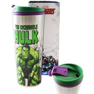 Copo Viagem 450ml Metal Hulk Zona Criativa
