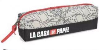 Estojo 1 Divisoria La Casa De Papel Cinza Luxcel
