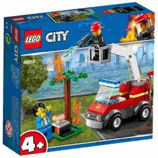 Extinçao De Fogo No Churrasco 64 Peças Lego