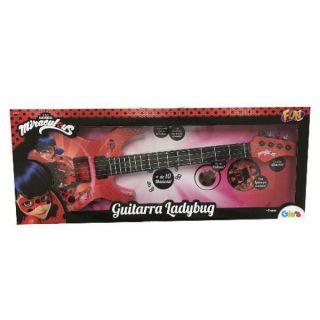 Guitarra Infantil Miraculous Ladybug