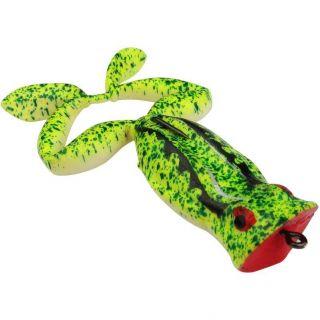 Isca Soft Sapo Flutuante Frogger 7cm 8,5cm Cor 49 Verde