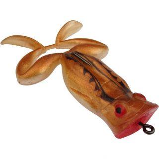 Isca Soft Sapo Flutuante Frogger 7cm 8,5cm Cor 55 Marrom