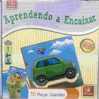 f3a4bcf937 Jogo Aprendendo A Encaixar 10 Peças Brincadeira De Criança