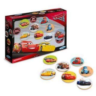 Jogo Da Memória Carros Disney 24 Peças 19887 Xalingo