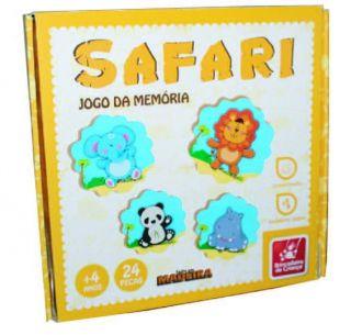Jogo Da Memória Safari 8351 Brincadeira De Criança