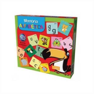 Jogo Memoria Alfabetica Pais E Filhos