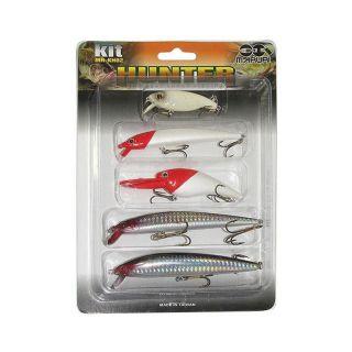 Kit Promocional 5 Iscas Artificiais Hunter Fishing Maruri Mr-Kh02