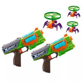 Lançador De Dardos X-Shot Swarm Sekeer + Launcher + Flying Bugs Candide