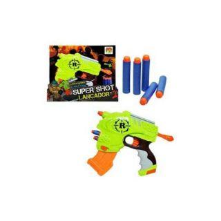 Lançador Super Shoot 2 Em 1 Dm Toys