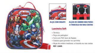 Lancheira Soft Avengers 11605 Dmw