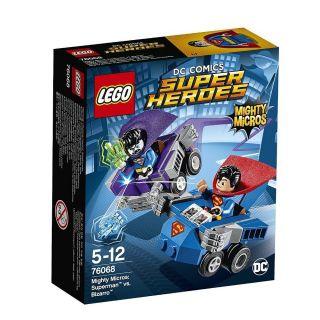 Lego Super Heroes Dc Poderosos Micros 76068 Super Homem Contra Bizarro Lego