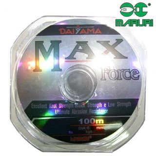 Linha De Pesca Max Force Daiyama 3.0 0.29mm 100 Metros Maruri