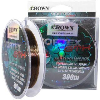 Linha Monofiamento Vortex Gtx 300m 28mm Crown