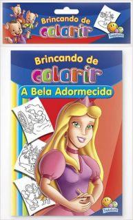 Livro Brincando De Colorir Todo Livro