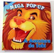 Livro Mega Pop-Up A Aventura De Tobi Todo Livro