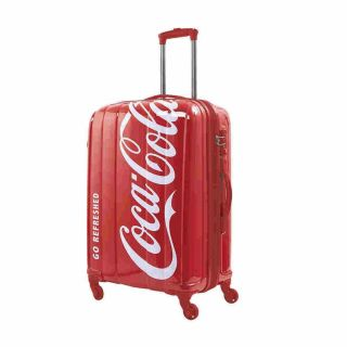 Mala De Viagem Coca Cola Split Media Estampada Pacific