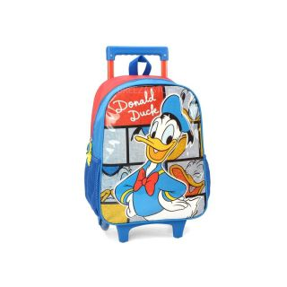 Mochila Carrinho Donald Duck Azul Luxcel