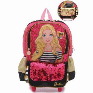 Mochila Carrinho G Barbie 19z Sestini